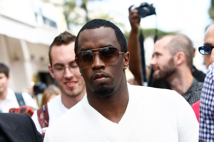 CANNES P Diddy shoppt bei Brioni