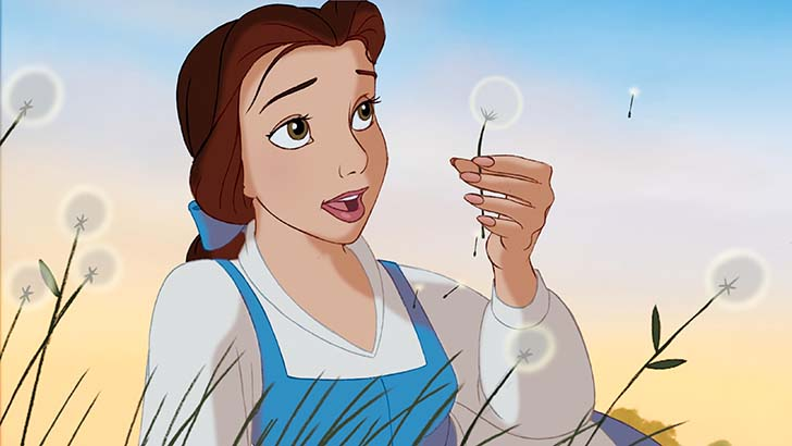 """Disney """"Beauty & the Beast 3D"""" Belle. ©2011 Disney. All Rights Reserved."""