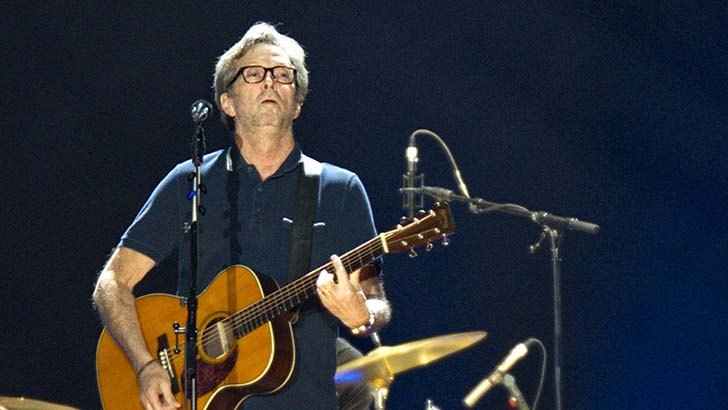 Eric Clapton Performs in Berlin