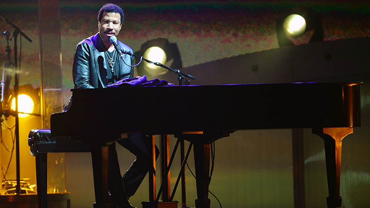 Lionel Richie Performs At Hard Rock Live