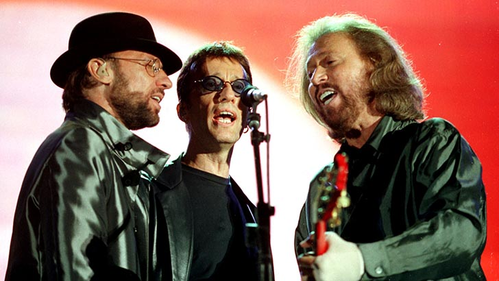 THE BEE GEES PERFORMING IN DUBLIN.  MANDATORY CREDIT WENN When: 17 Dec 2003