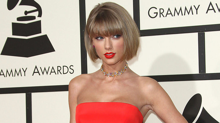 Taylor Swift at the Grammy Awards Ceremony